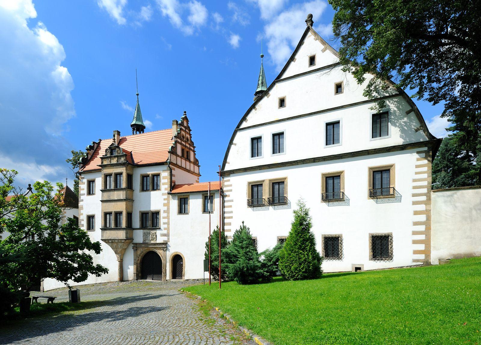 Benešovský zámek oslaví významné výročí